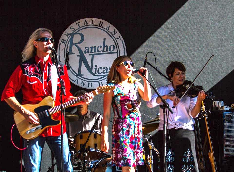 Danny Click and the Hell Yeahs! at the Rancho Nicasio BBQ with Shana Morrison